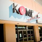 Front of KOME restaurant