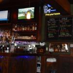 Bar, craft beer listing