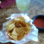 House Chips with Red Salsa
