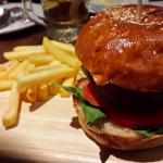 Delicious Hamburger for meat lovers