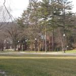 Part of the Dartmouth College campus