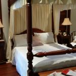 Four poster, comfy bed, antique furniture