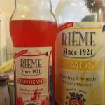 Various flavors of Limonade from France