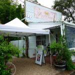 The roadside cafe, Flutterbies Cottage