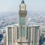 Full view of clock tower Makkah
