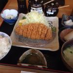 特選ロースかつ定食(120g)