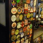 Some of impressive range of beers that have been here