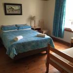 Mark Twain room with 1 double bed and 1 single bed