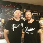 Me and Marius at Cafe Marius!
