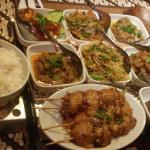 Indonesische Reistafel für zwei Personen. 20 Euro pro person