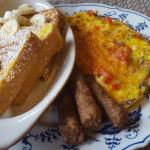 Frittata & Banana French Toast