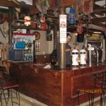 The bar at Berlin Pub