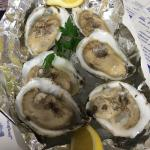 delicious fresh bay oysters