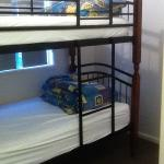 2nd bedroom with bunk bed