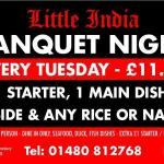 Banquet Night every Tuesdays
