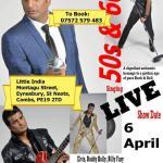 Rocker Sal Show on 6th of April
