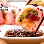 Wide variety of Japanese and Peruvian dishes to choose from!