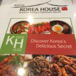 Menu cover of Korea House