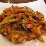 Shrimp with vegetables