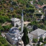 Вид на мечеть из замка