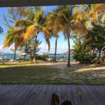 Paradise from bungalow F