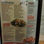 new menu