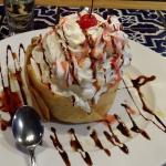Fried Ice Cream dessert, it tastes as good as it looks!