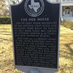 Historical Information on Oge House