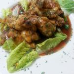 Indian spiced wings at Redds Fueling Station Blue Mountain Beach 30A