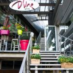 D'Vine Bar's entrance from the street side