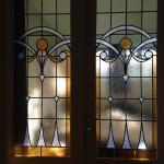 Internal art nouveau door