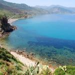 Spiaggia Torre Conca (ex Valtur) vista da lato Messina.