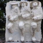Sulphur Lake Sculpture Trail ( Breaking Through by Glebos Tkachenko )