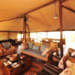 Lounge Area at Linyanti Bush Camp