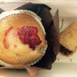 Muffin vegan al lampone e baklava vegan