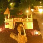 Giardino di Gaia di notte