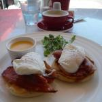 Brilliant Eggs Benedict!