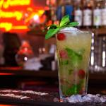 Check out our wide range of cocktails including this Cherry Mojito