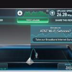 internet speed 8th floor
