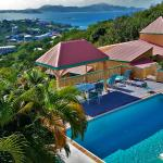 Cruz Views #4 - overlooking the pool and Cruz Bay - St John USVI