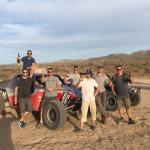 End of the road, day is done. Exhausted after an exhilarating day driving 150 miles of the Baja