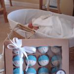 Delicious cupcakes from The Vintage Birdcage Cakery for the birth of my son
