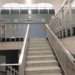 inside former terminal