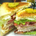 "Club Sandwich ""Delicious"""
