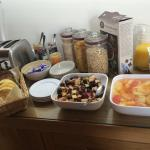 Really couldn't fault this place! Beautiful setting, immaculate rooms and a Breakfast fit for a