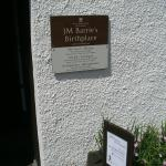 J.M. Barrie's Birthplace
