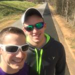 Loved walking on the swamp rabbit trail this afternoon. It was beautiful weather and the trail w