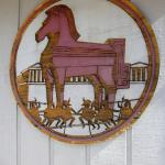 Trojan Horse sign, Bloomington