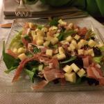 Salade : entrée enfants - très sympa