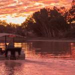 Innamincka River Cruise at Sunset